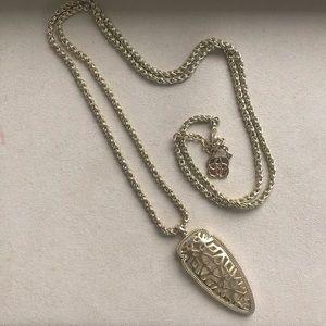 Kendra Scott Sienna Necklace- Gold